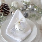 ホワイトクリスマステーブルコーディネート
